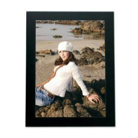 lawrence frames 230080 lawrence frames black 8x10 metal picture frame. Black Bedroom Furniture Sets. Home Design Ideas