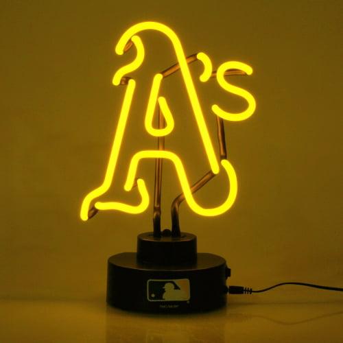 Oakland Athletics Team Logo Neon Light - No Size