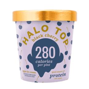 Halo Top, Black Cherry Ice Cream, Pint (8 Count)