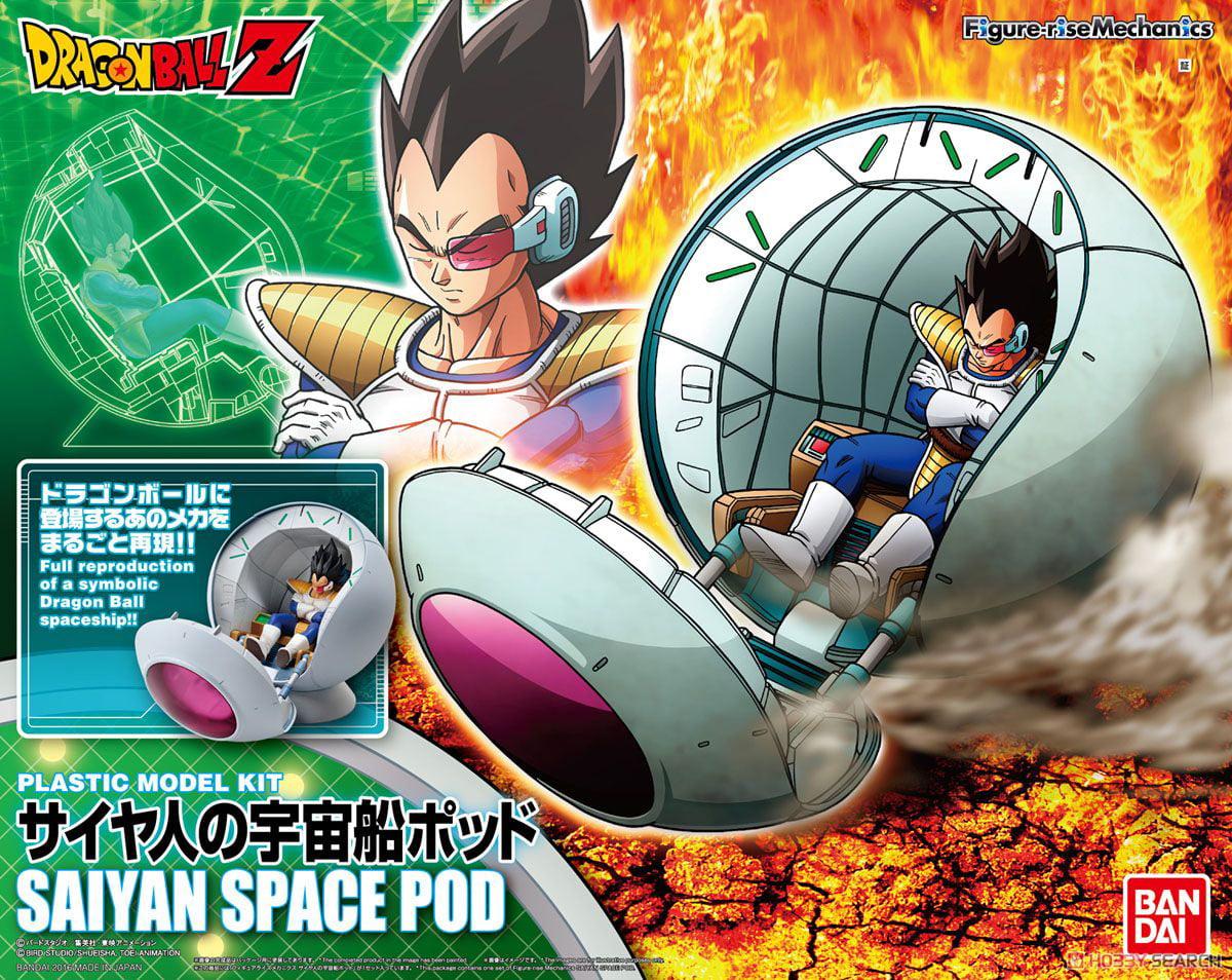 "Bandai Hobby Figure-Rise Mechanics Saiyan Space Pod ""Dragon Ball Z"" Model Kit by Bandai Hobby"