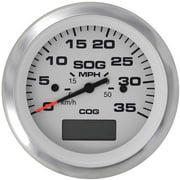 SeaStar Solutions Lido GPS Speedometer, 35 MPH