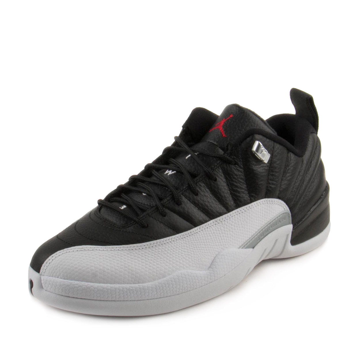 online store de596 8fb46 ... new zealand product image nike mens air jordan 12 retro low playoff  black red white 308317