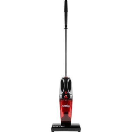 - Eureka Quick-UP Bagless Stick Vacuum with Motorized Brush Roll, 169J, Red
