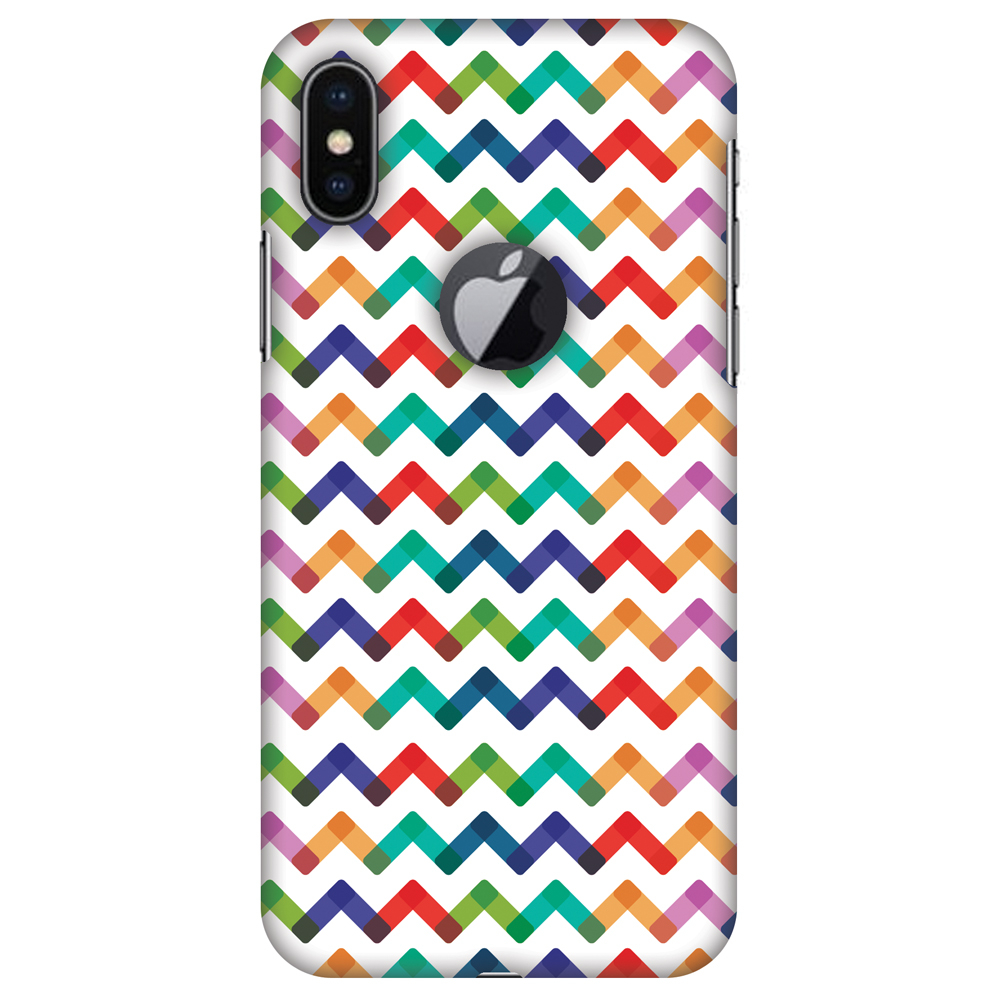 how to clean an iphone iphone x chevron chic 1 plastic back cover 9705