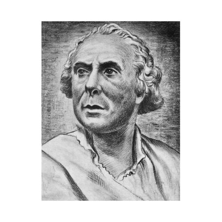 Portrait of Casanova Print Wall