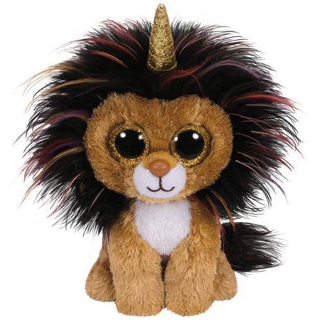 TY Beanie Boos - Ramsey Uni-Lion Horn (Glitter Eyes) Small 6