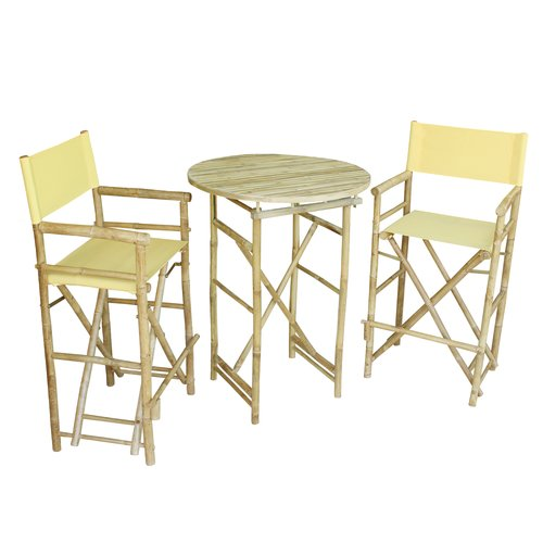 Bay Isle Home Waterford 3 Piece Bar Height Dining Set