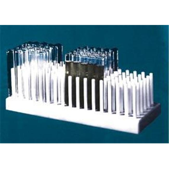 Olympia Sports 11507 Full View Test Tube Rack - Holds 80 Tubes