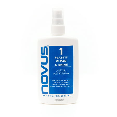 Novus 1  Plastic Polish   Scratch Remover  8Oz  Bottle