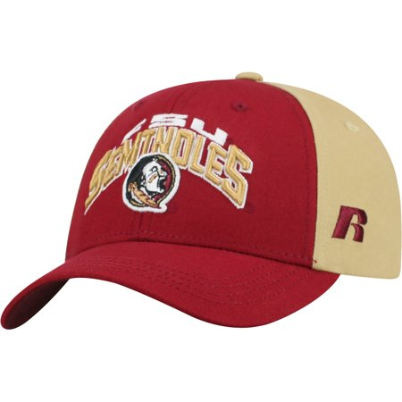 Youth Russell Garnet/Gold Florida State Seminoles Tastic Adjustable Hat - OSFA ()