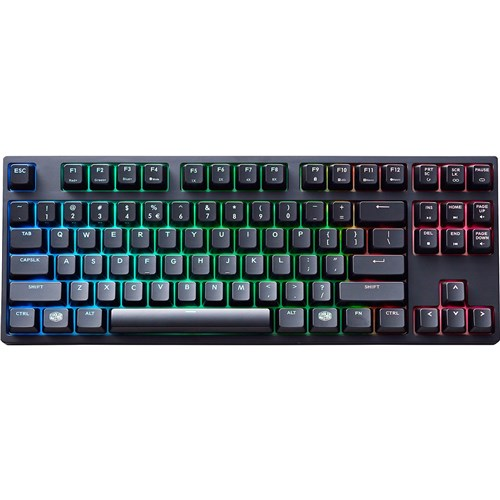 Cooler Master SGK-6030-KKCM1-US MasterKeys Pro S Keyboard