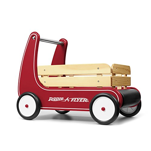 Radio Flyer Natural Solid Wood Body for a Classic Look Wagon