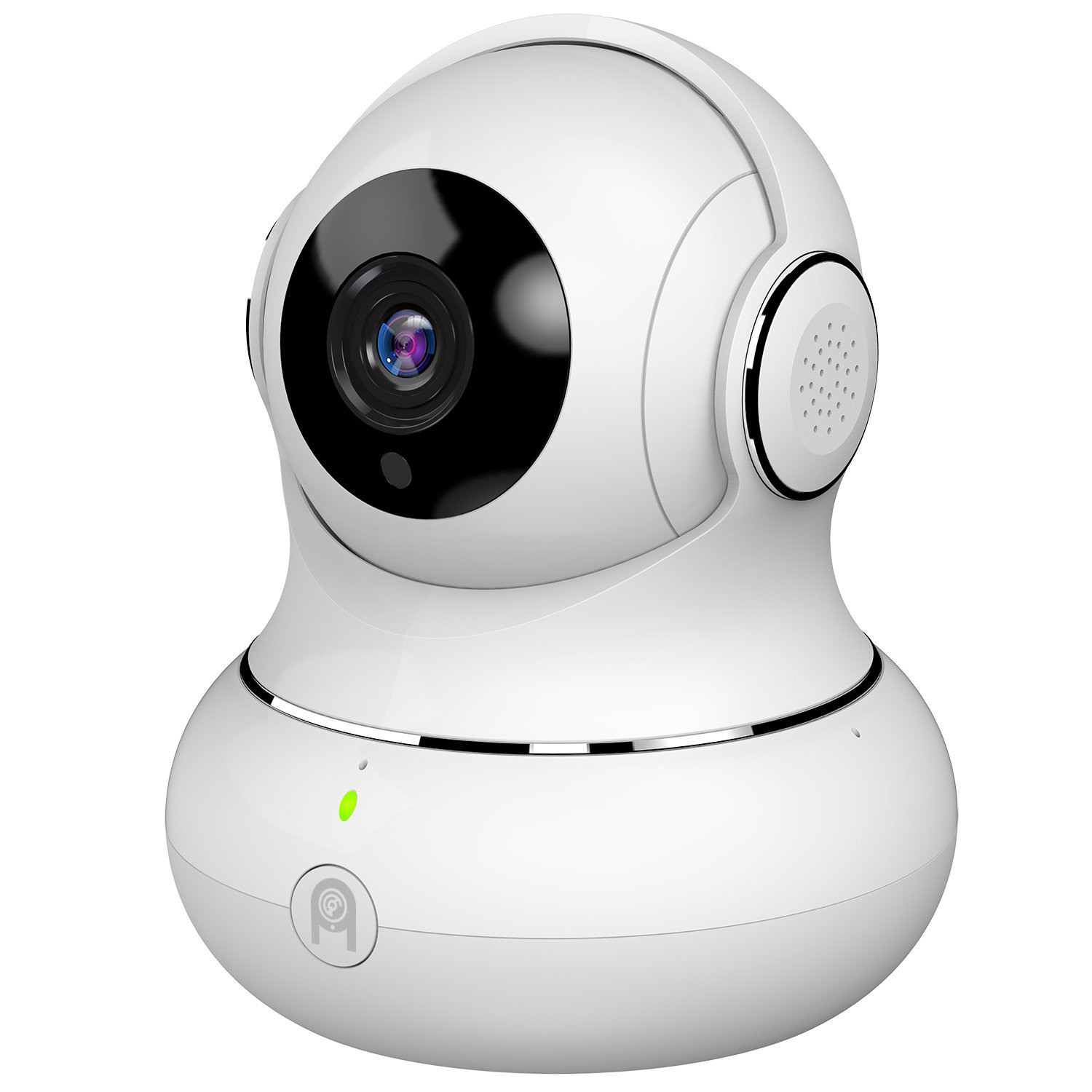 1080P HD WiFi Pan Tilt Camera 360 View Night Vision Two-Way Audio Nanny Security Spy Cam