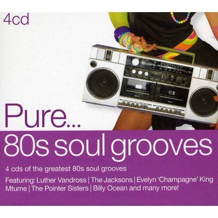 Pure '80s Soul Grooves (CD)