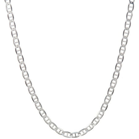 Italian Sterling Silver Marina Chain Necklace, 20
