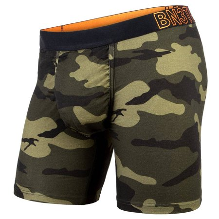 BN3TH (MyPakage) Merino Wool Boxer Brief: Spruce Green Camo (X-Large)