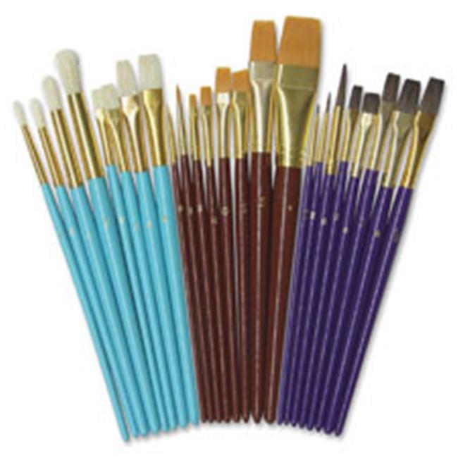Multimedia Paint Brush Set, 24 Per Sticker