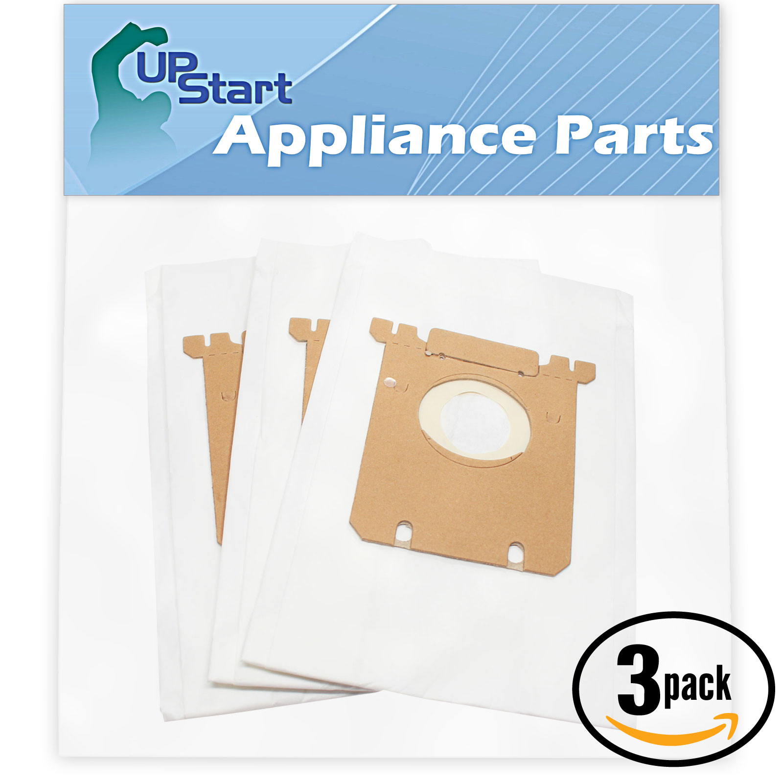 9 Replacement Sanitaire SP6952 Style S Vacuum Bags - Compatible Sanitaire S-Bag Vacuum Bags (3-Pack - 3 Vacuum Bags per Pack) - image 4 of 4
