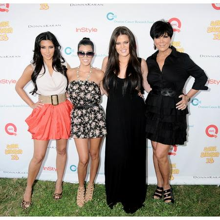 Kim Kardashian Kourtney Kardashian Khloe Kardashian Kris Kardashian In Attendance For Super Saturday 13 Benefit For The Ovarian Cancer Research Fund NovaS Ark Project Water Mill Ny July 31 2010