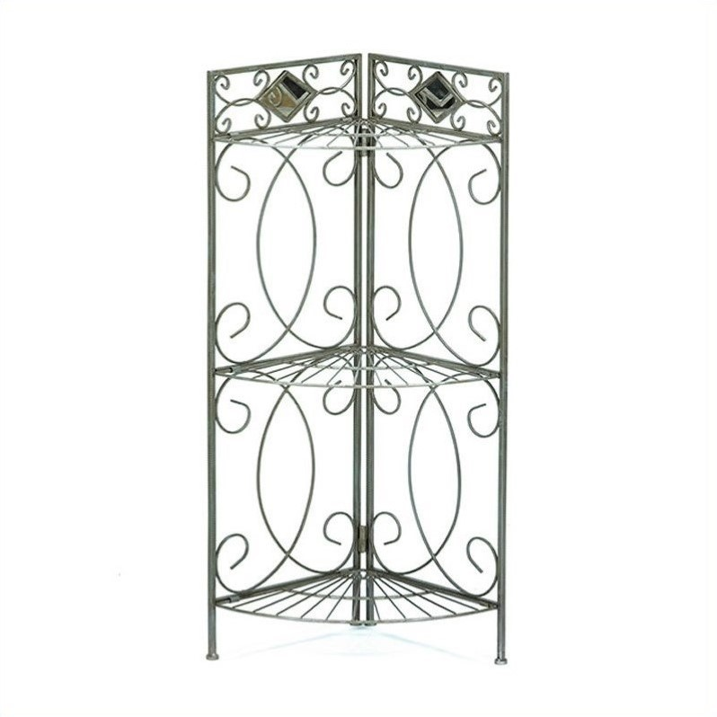 Southern Enterprises Reflections Corner Rack