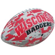 Wisconsin Badgers Game Master Mini Rubber Football - Camo