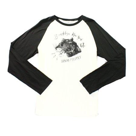 Denim & Supply by RALPH LAUREN NEW White Mens 2XL Graphic Tee T-Shirt
