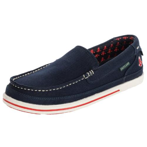 Boston Red Sox MLB Eastland Sheffield Shoes Navy by Eastland Shoe