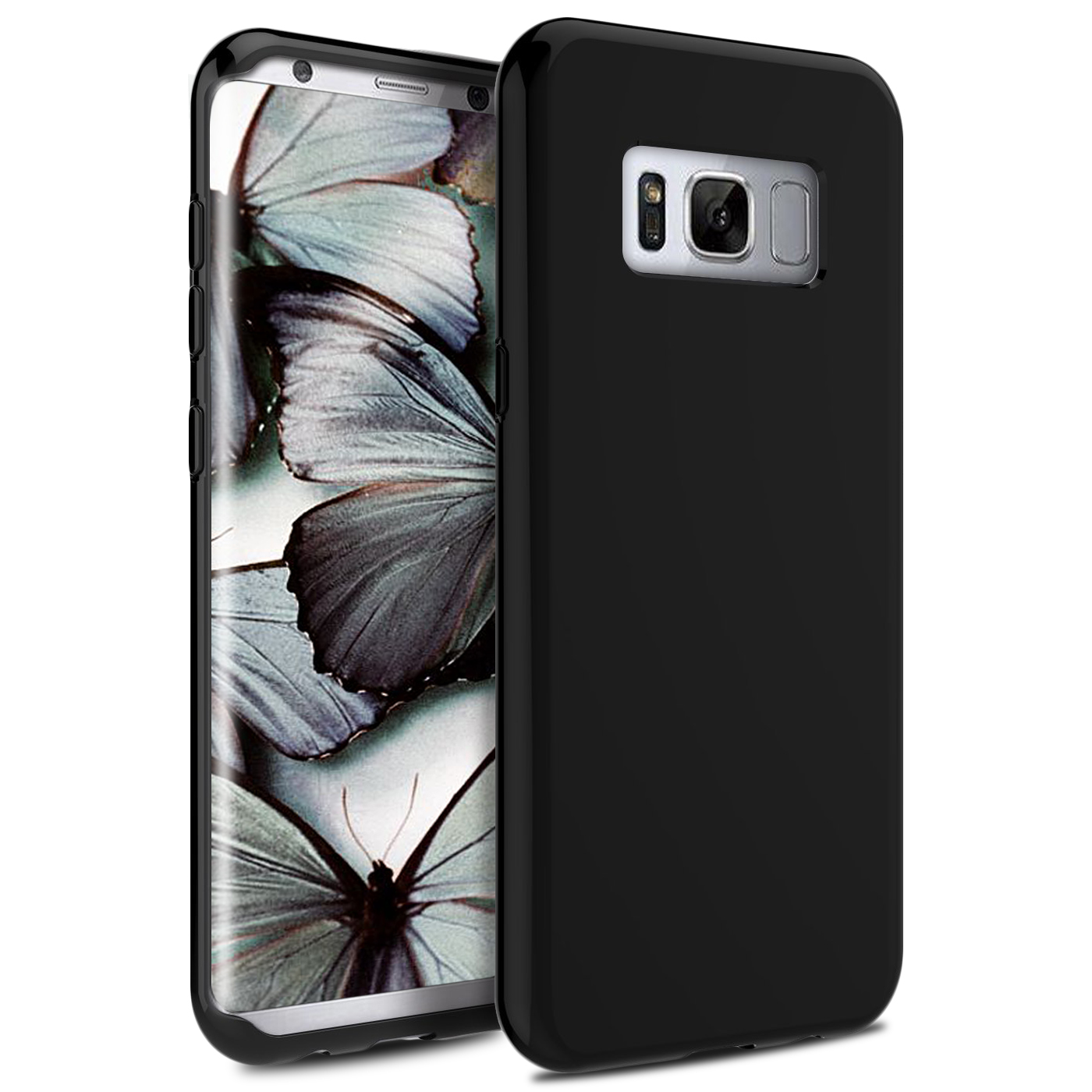 Samsung Galaxy S8 / S8 Plus Case, Zizo TPU Cover - Simple Thin Heavy Duty Case