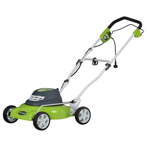 """Greenworks 18"""" Electric-Powered Lawn Mower"""