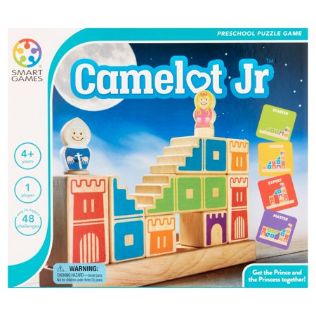 Smart Games Camelot Jr Preschool Puzzle Game - Pre K Halloween Games