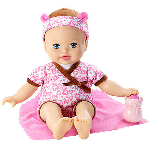 Little Mommy Baby So New Leopard Doll