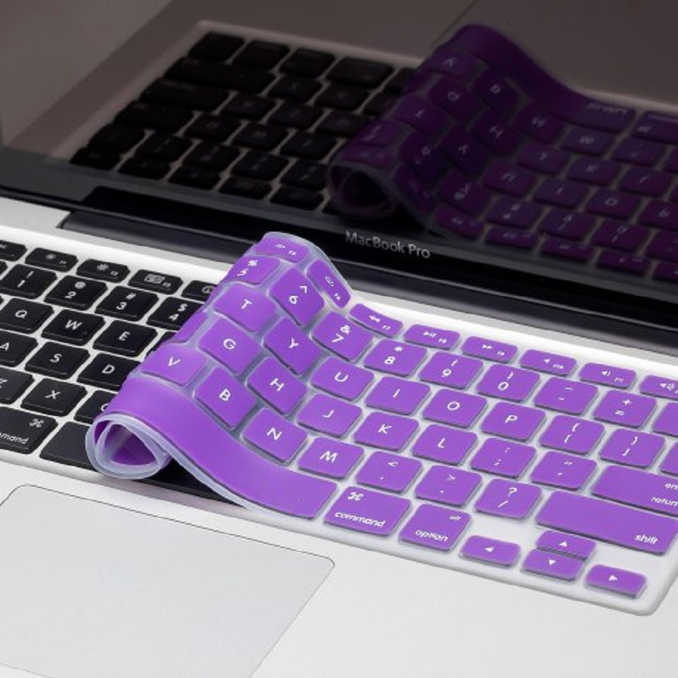 "Silicone Skin for MacBook - 15"" - Purple"