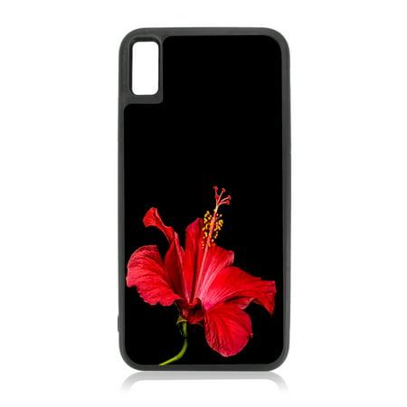 iphone xs case hibiscus