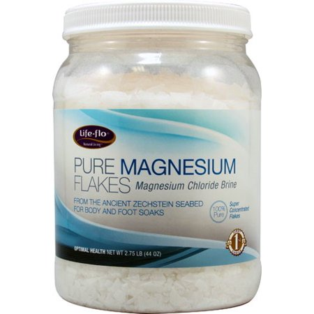 Life-Flo Pure Magnesium Flakes, 44 - Pure Magnesium