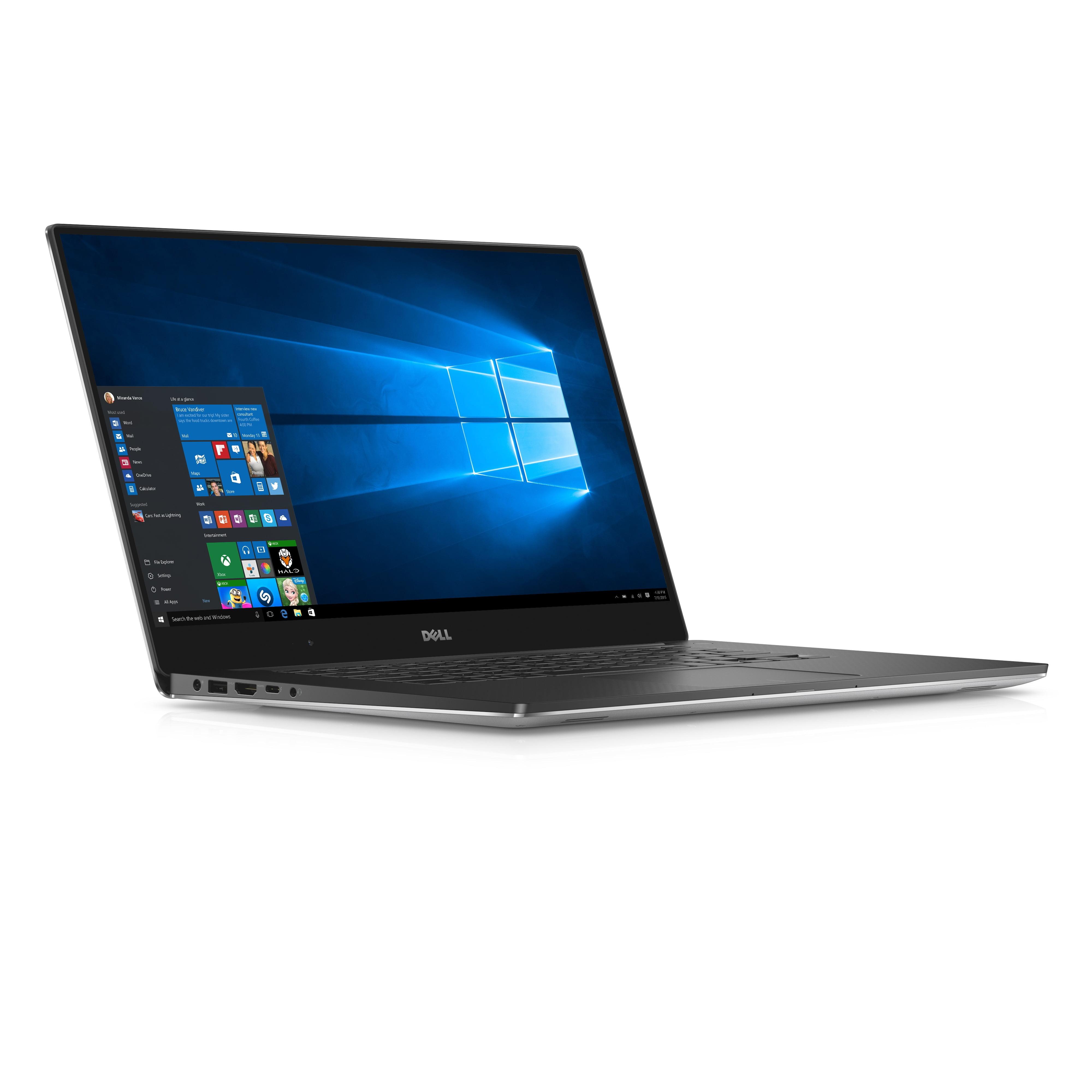 """Dell XPS 15-9550 intel Core i5-6300HQ X4 2.3GHz 8GB 1TB 15.6"""" Win10,Black (Certified Refurbished)"""