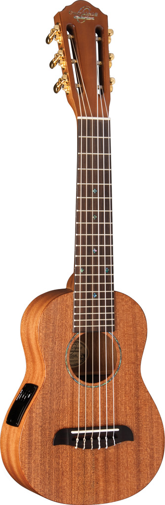 Oscar Schmidt Electric Guitarlele, All Mahogany, Satin Finish, OGU6E by Oscar Schmidt