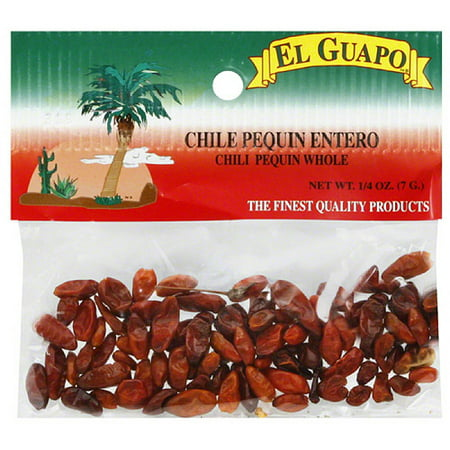 El Guapo Whole Chile Pequin  0 25 Oz   Pack Of 12