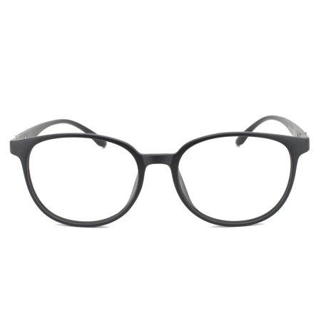 c777a0514ba Eye Buy Express Prescription Glasses Mens Womens Matte Black Modern Retro  Style Reading Glasses Anti Glare grade - Walmart.com