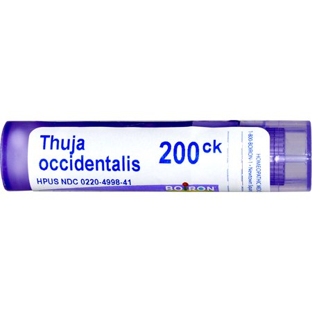 Boiron Single Remedies Thuja Occidentalis 200CK 80 Pellets