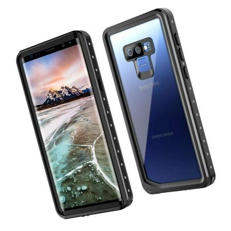 SNOWFOX Samsung Galaxy Note 9 Waterproof Case, Built-in Screen Protector  Cove