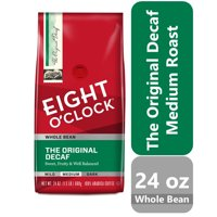 Eight O'Clock The Original Decaf Whole Bean Coffee, 24 oz Bag