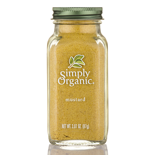 Ground Mustard Seed - 3.07 oz (87 Grams) by Simply Organic
