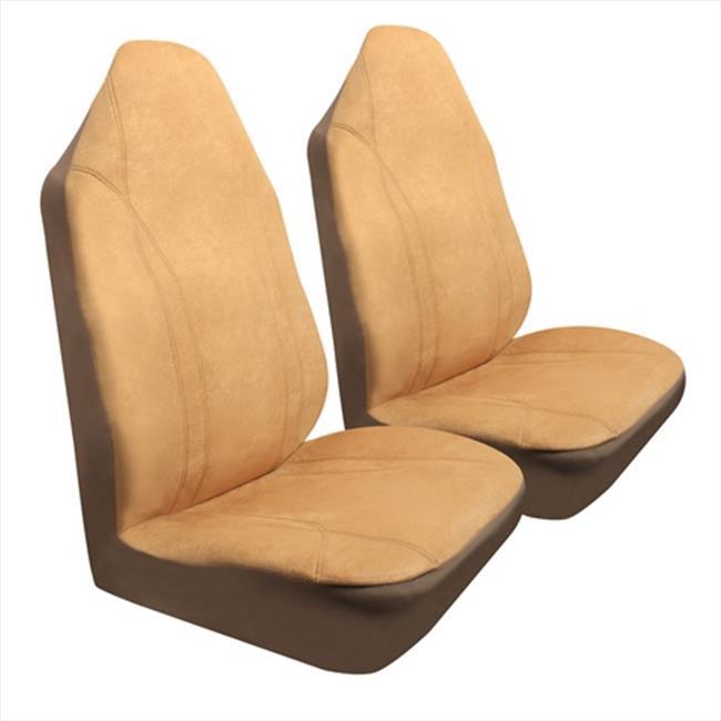 Pilot Automotive SC-417T Tan Royal Velvet Seat Cover 3 Piece
