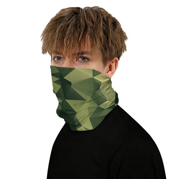 New Multi-use Camo Neck Gaiter Face Shield Tube Bandana Motor Balaclava Headband