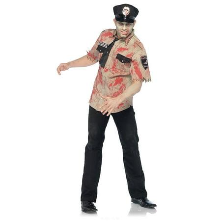 Leg Avenue Zombie Cop Costume Set](Cheap Cop Costumes)
