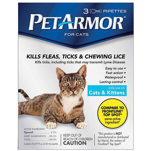 PetArmor Flea & Tick Protection for Cats & Kittens, 3-month Supply