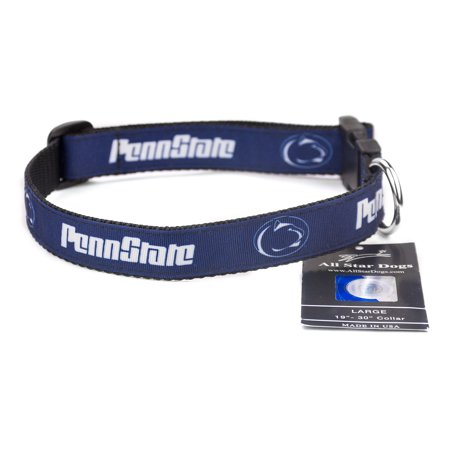Penn State Nittany Lions Ribbon Dog Collar for $<!---->