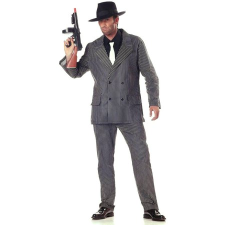 Gangster '20s Men's Adult Halloween Costume, XL