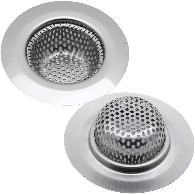 SimpleLife 100 Pezzi Kitchen Sink Drain Hole Mesh Bag Trash Strainer Filtro eliminabile monouso