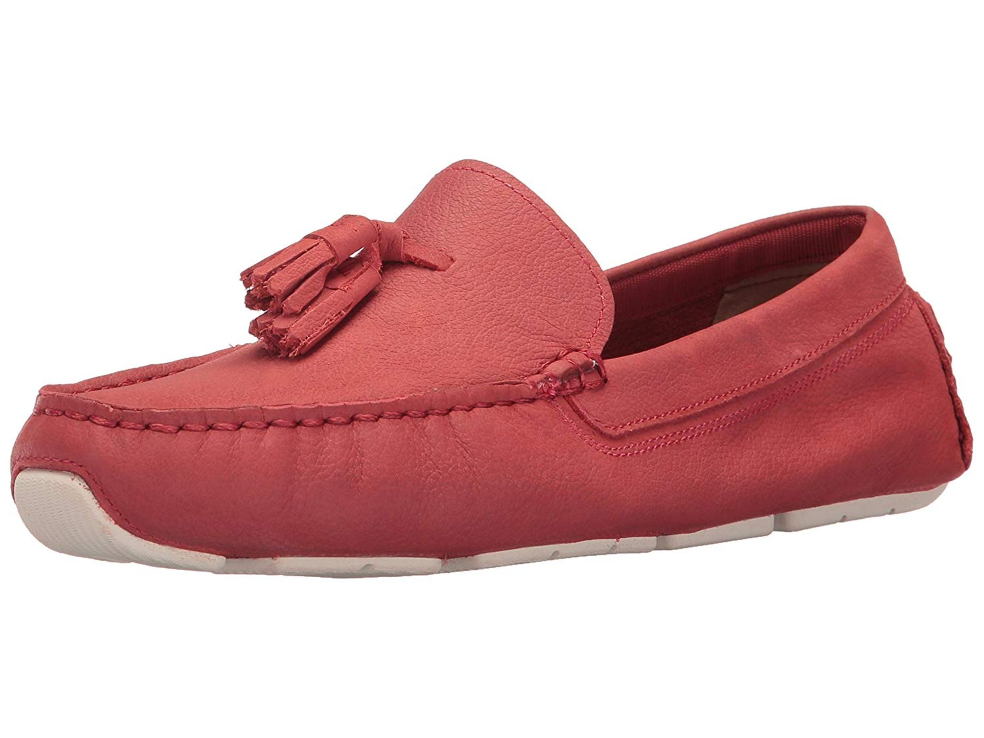 39996ea626c Cole Haan Mens RODEO TASSEL DRIVER Leather Closed Toe
